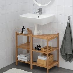 RÅGRUND/TYNGEN Armario bajo lavabo+2 prtas