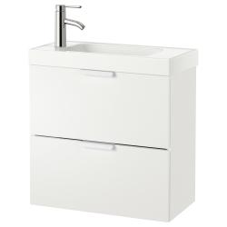 GODMORGON/HAGAVIKEN Wash-stand with 2 drawers