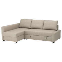 FRIHETEN Sofá cama esquina+almacenaje