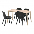 LISABO/ODGER Table and 4 chairs