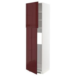 METOD Armario alto frigorífico 2 puertas