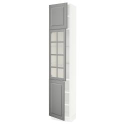 SEKTION Armario alto+puerta vidrio/2puertas