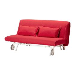 IKEA PS LÖVÅS Sofá-cama 2 plazas colchón espuma firme