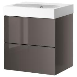 GODMORGON Clóset para lavamanos+2 cajones