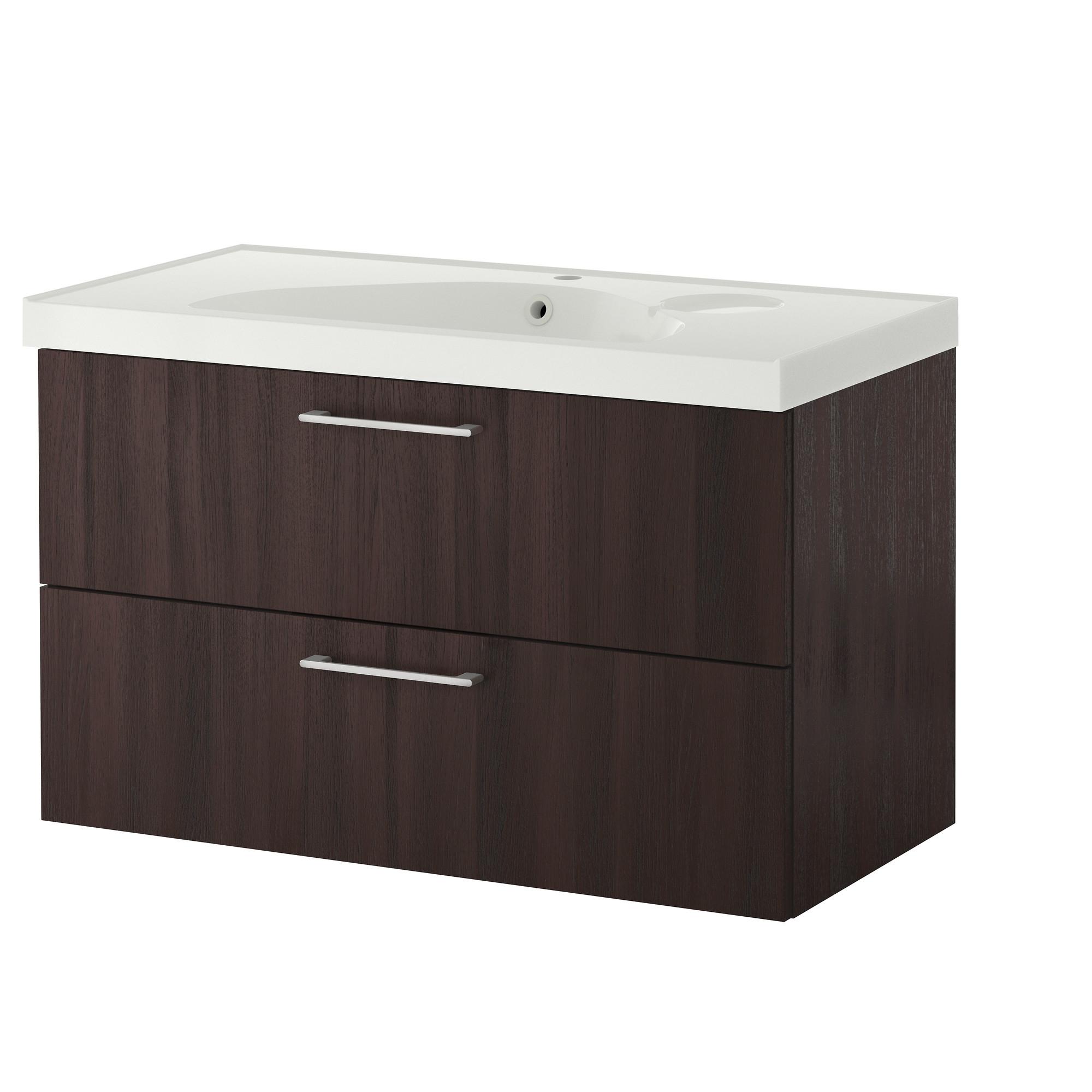 Muebles peque os - Armario lavabo ikea ...