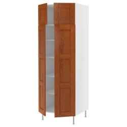 AKURUM Armario alto+estantes/4 puertas