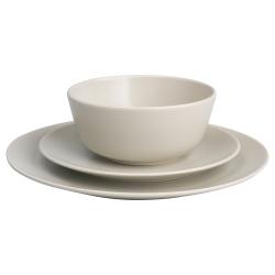DINERA Vajilla de cerámica, 18 piezas