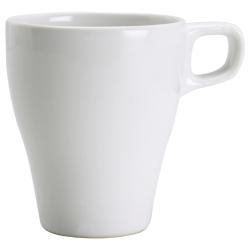FÄRGRIK Taza cerámica blanco, 8 oz