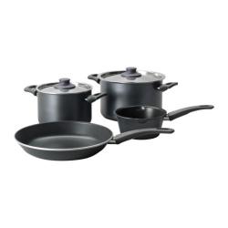 SKÄNKA Batería de cocina, 6 piezas