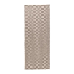 MORUM Alfombra, lisa 80x200 beige