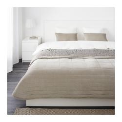 PENNINGBLAD Colcha cama doble + fundas almohada