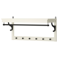 HEMNES Perchero/estante