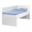 FLAXA Estructura de cama 90 con cabecero