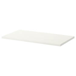 LINNMON Tablero para escritorio 120x60 cm blanco