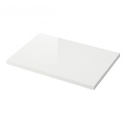 1 x TORSBY Tablero para mesa 135x85 cm blanco brillo