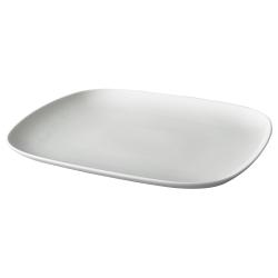 VÄRDERA Plato de porcelana, 31x26cm