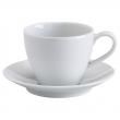 VÄRDERA Taza+plato para café, 7oz