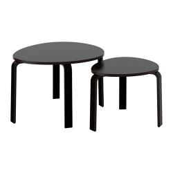 SVALSTA Juego de mesas, 2 piezas