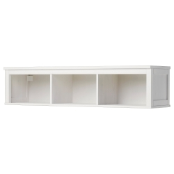 HEMNES Estante pared/puente