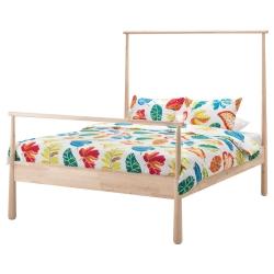 1 x GJÖRA Armazón de cama Queen