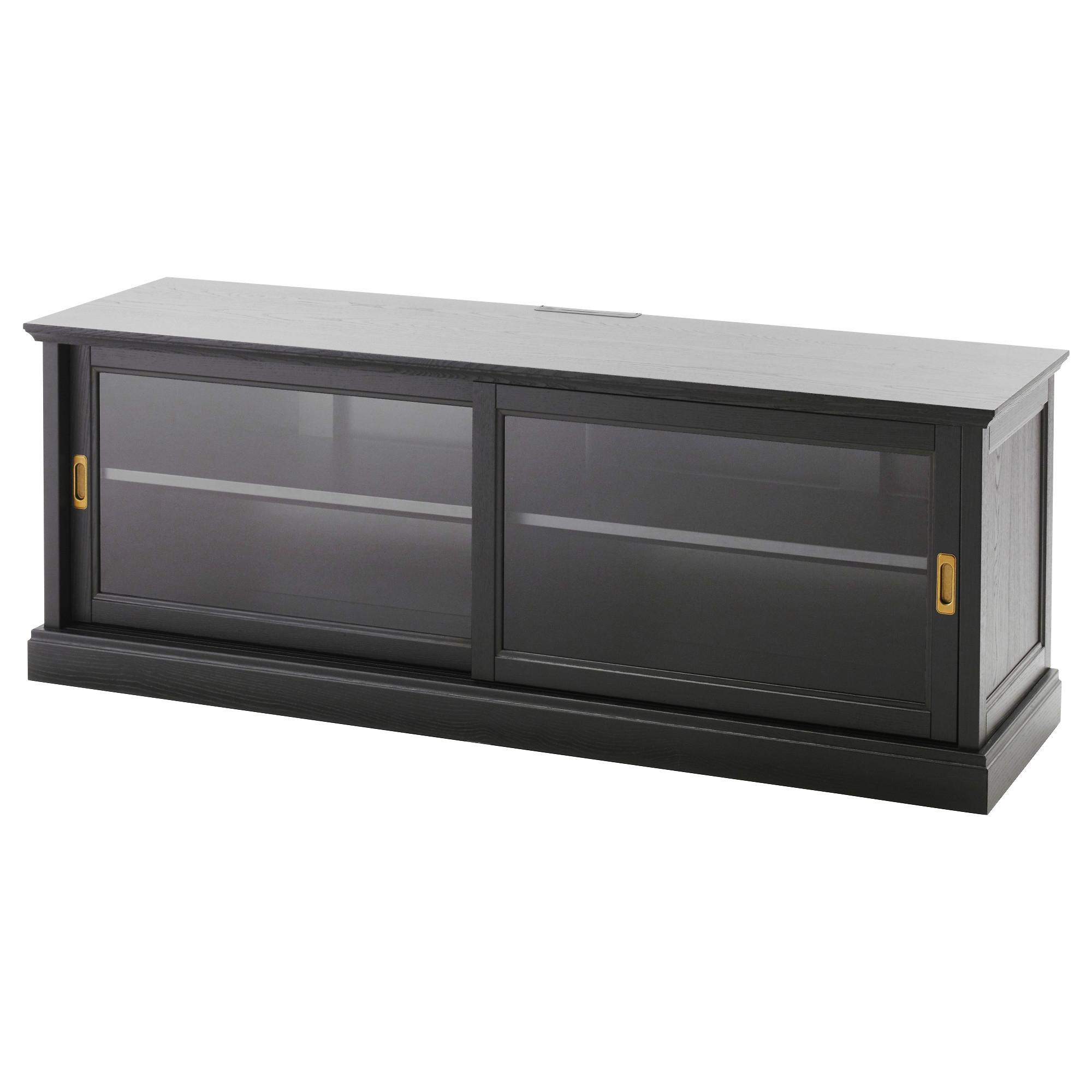 MALSJÖ Mueble TV con puertas correderas