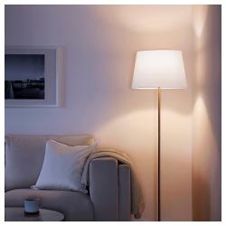 JÄRA Pantalla para lámpara blanco 44 cm