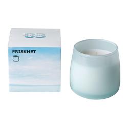 FRISKHET Vela perfumada en vidrio