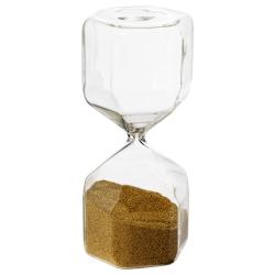 TILLSYN Reloj de arena decorativo