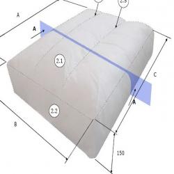2 x MÅNSTORP Cojines interior respaldo esquina