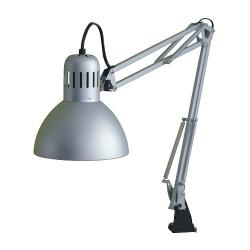 TERTIAL Lámpara de trabajo plateado