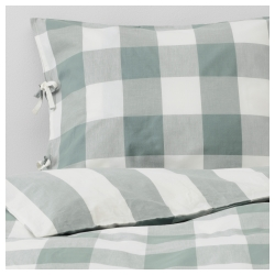EMMIE RUTA Quilt cover and pillowcase