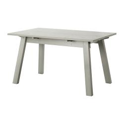 INDUSTRIELL Mesa 135x80 cm gris claro