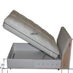1 x GRÖNLID Armazón módulo chaise longue