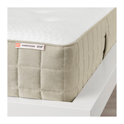 HIDRASUND Mattress de resortes envueltos