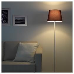 RYRA Pantalla para lámpara burdeos 33 cm
