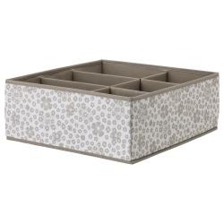 STORSTABBE Caja con compartimentos