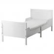 SUNDVIK Armazón de cama extensible con base de tablillas