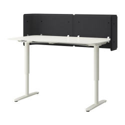 BEKANT Reception desk sit/stand