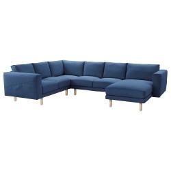NORSBORG Funda sofá esq 2+2 + chaise longue