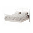 LEIRVIK Cama Queen + tablillas Lönset