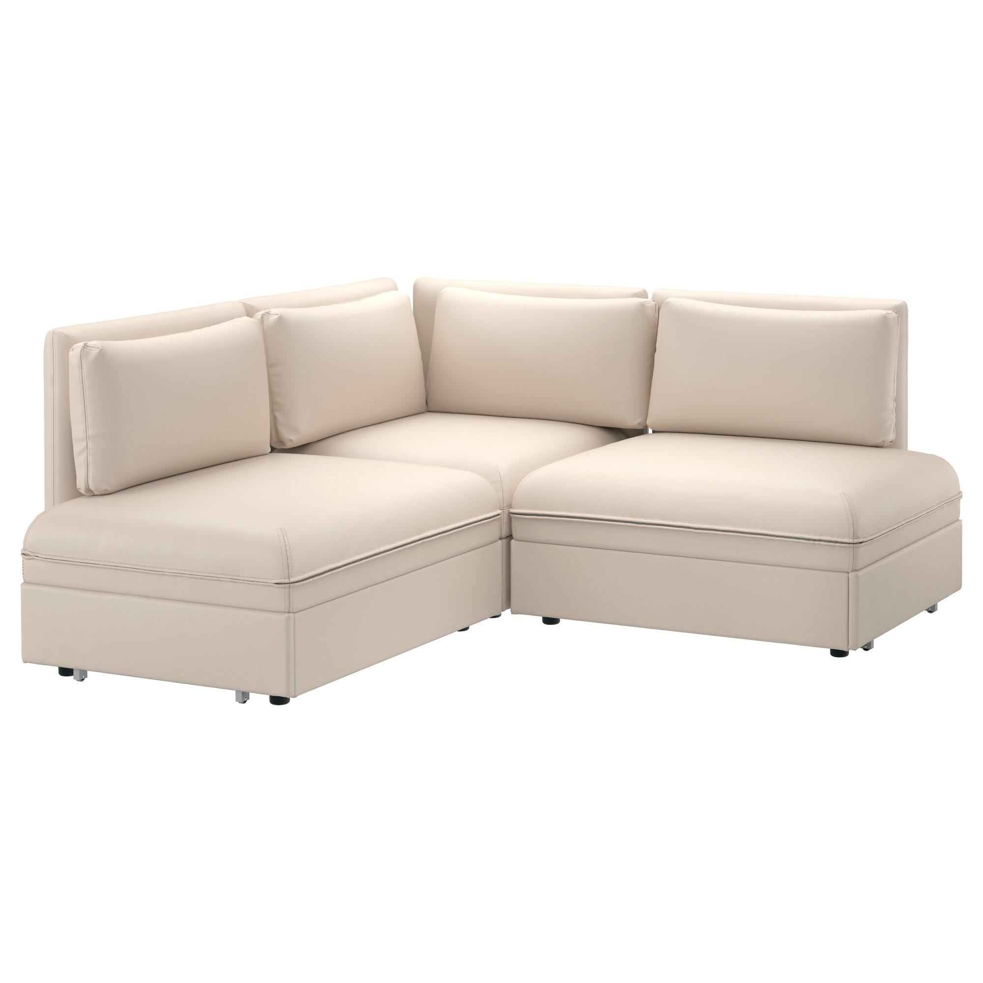 VALLENTUNA sofá de esquina 3 plazas+cama