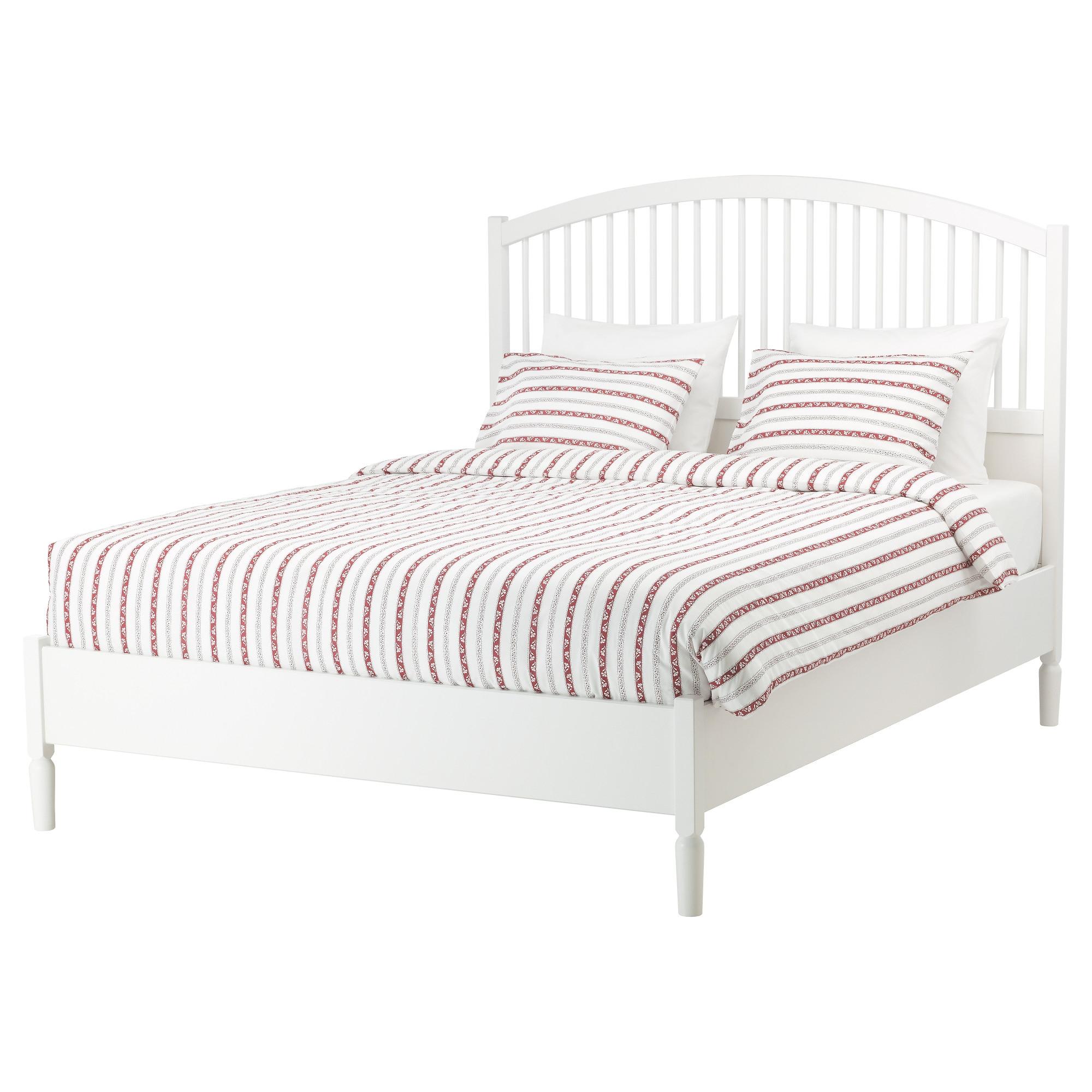 TYSSEDAL armazón de cama Full + viga central