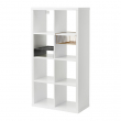 KALLAX Shelving unit with 2 inserts