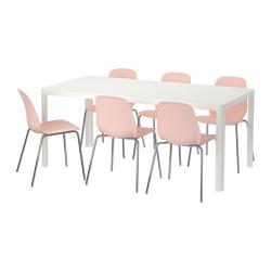 TINGBY/LEIFARNE Mesa y 6 sillas