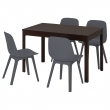 EKEDALEN/ODGER Table and 4 chairs