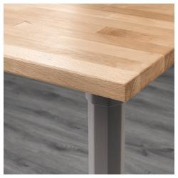 GERTON Mesa de escritorio 155x75 cm