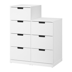 NORDLI Chest of 7 drawers