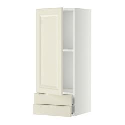 METOD Armario de pared puerta y cajones