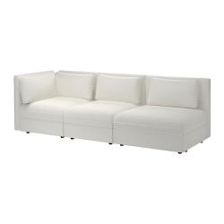 VALLENTUNA Sofá modular+sofá cama