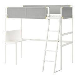 VITVAL Estructura cama alta+escritorio